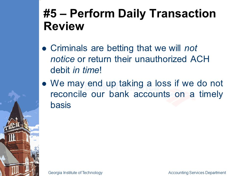 Fraud Prevention Strategies at Georgia Tech - ppt video online ...