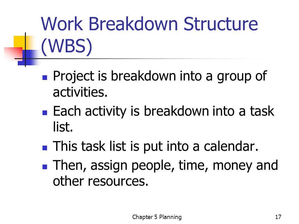 Chapter 5 Project Planning - ppt video online download
