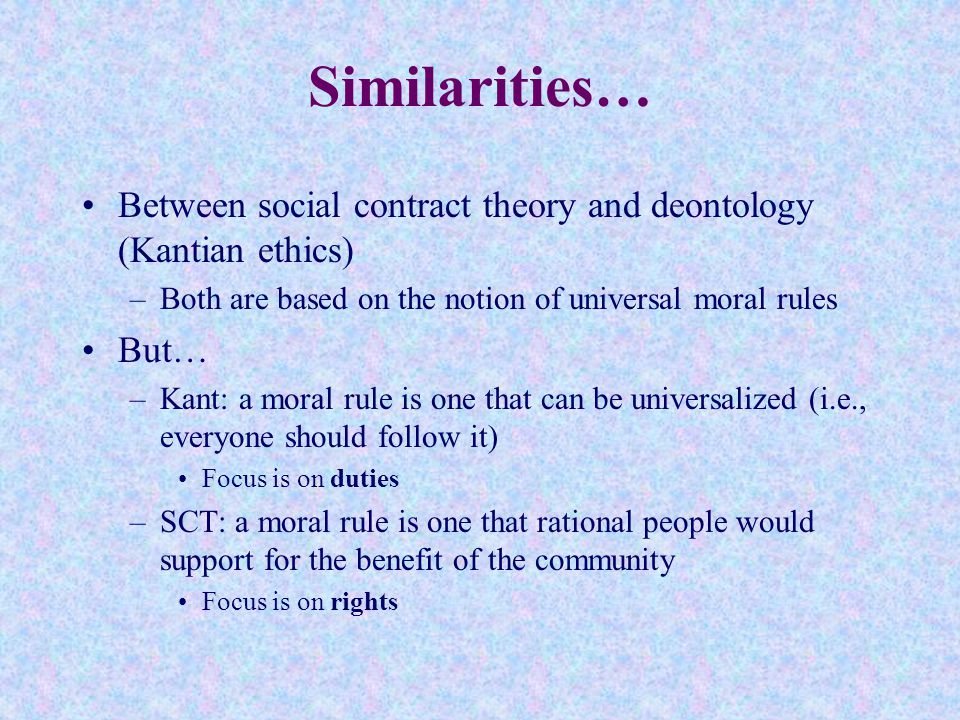 how can you apply kant theory on plagiarism In contrast to aristotle's theory, kant argues that there is nothing in the world that can be said to be good except the good will while aristotle's argument is that there are the things far superior to human beings which can be better than the human beings' good will.