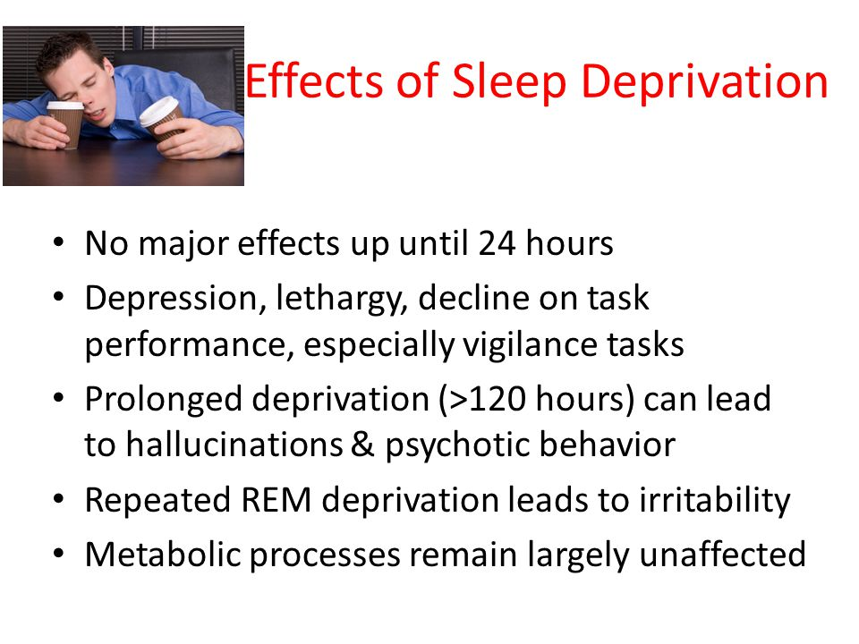 the effects of sleep and the problem of sleep deprivation Home sleep disorders problems  the link between a lack of sleep and type 2 diabetes sleep deprivation is an often which is a problem because regular.