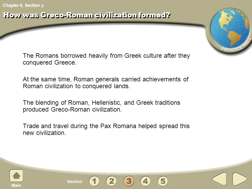 What is Greco-Roman culture?