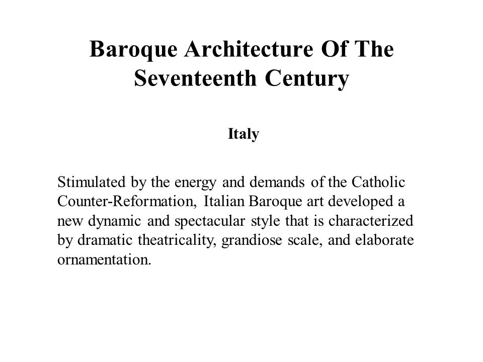 Elaborate baroque style of ornamentation 100 images for Define baroque style