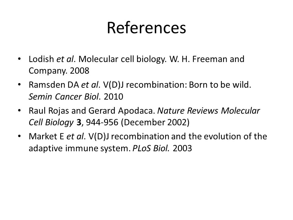 molecular biology and w h freeman Cell and molecular biology cell and molecular biology (bio358) instructor: ron kaltreider, phd w h freeman and company.