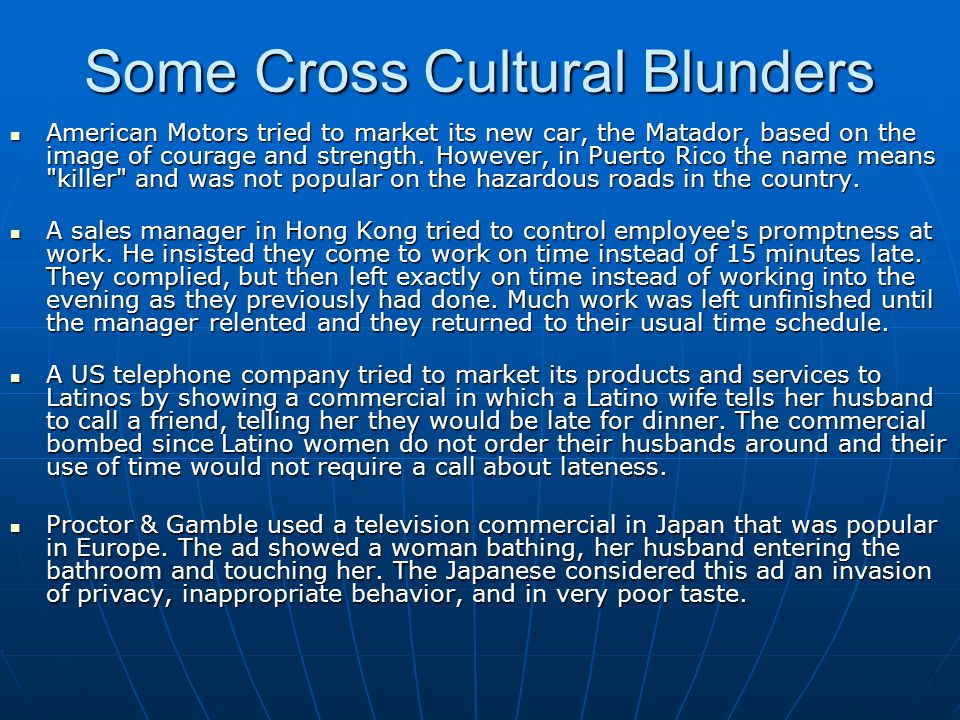 The Cultural Environments Facing Business - ppt video ...