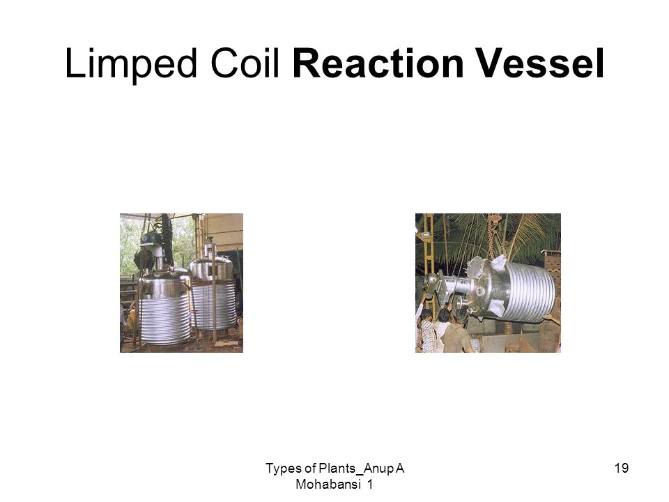 Limped Coil Reaction Vessel