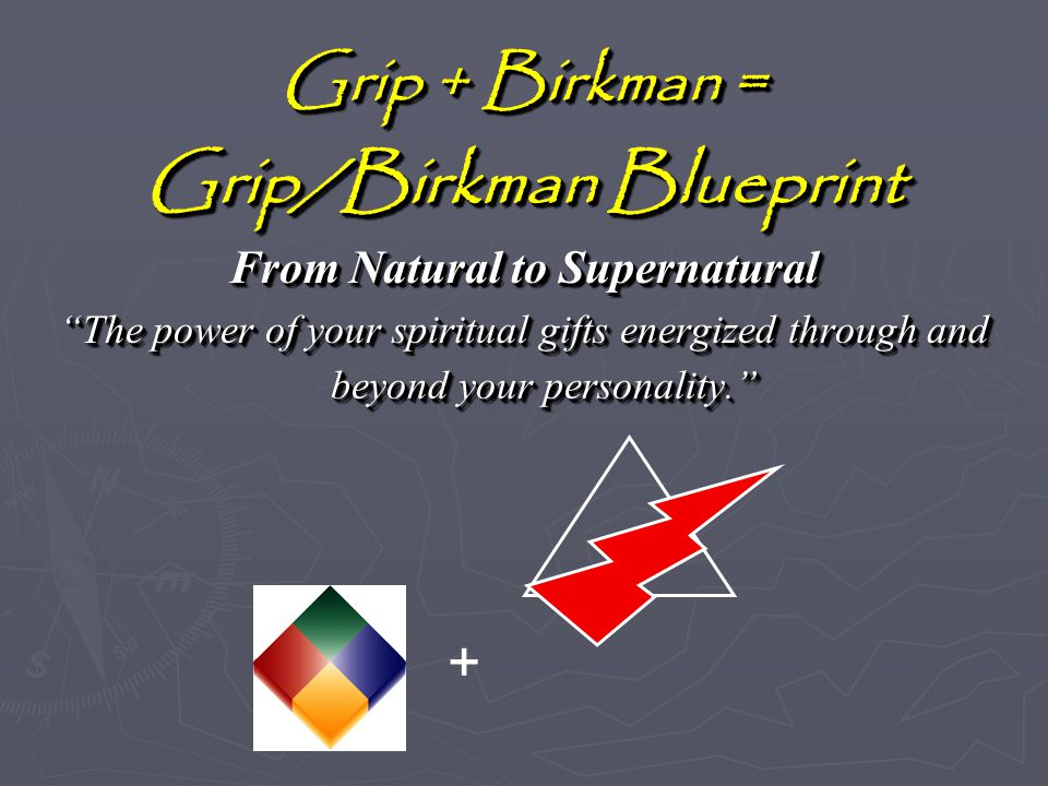 Welcome to blueprint for living your leadership grip ppt download gripbirkman blueprint from natural to supernatural malvernweather Images