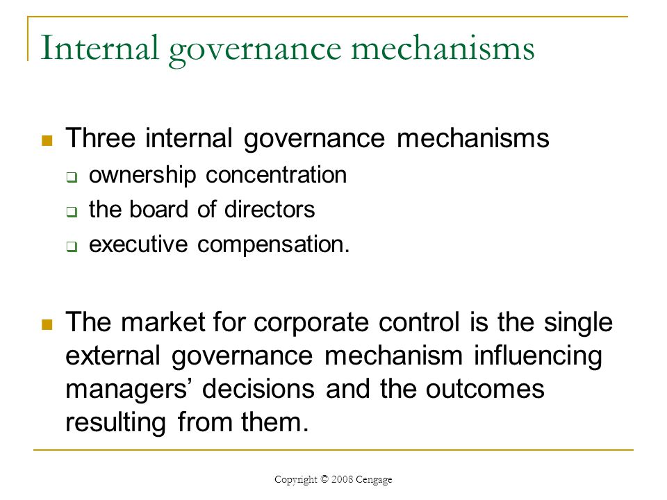 Free International Risk Management: Systems, Internal Control And Corporate Governance 2007