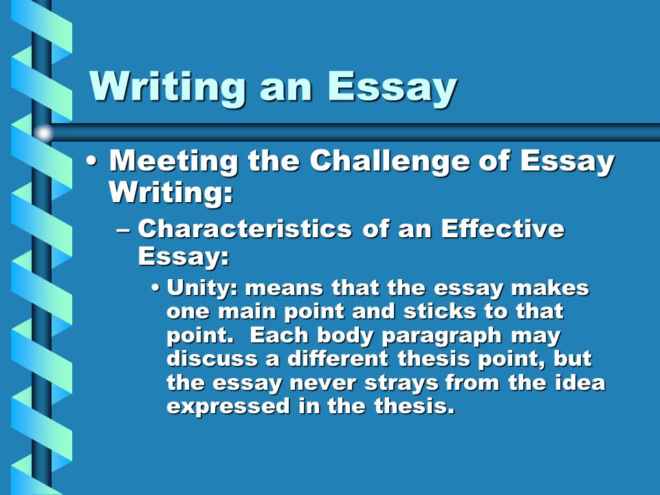 effective research and writing essay Guide to effective writing strategies an online resource created by the in many formal essays or research papers, your thesis statement may serve as your.