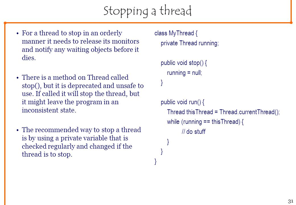 oop lecture 6 thread programming