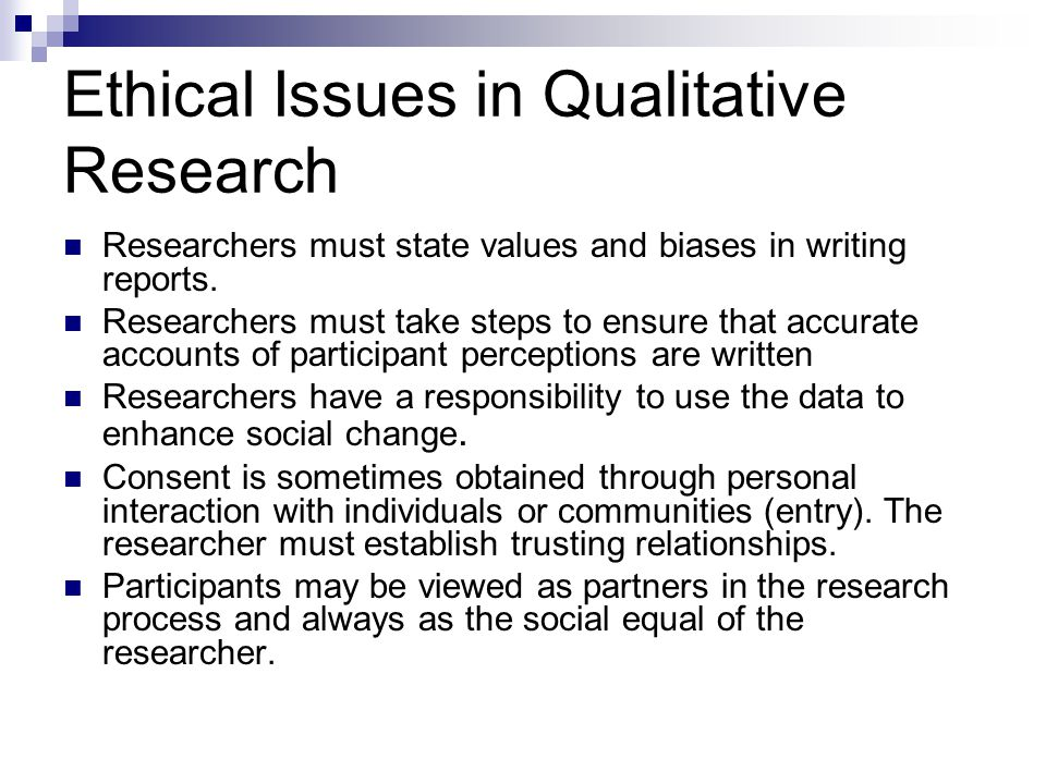 Ethics in Clinical Research