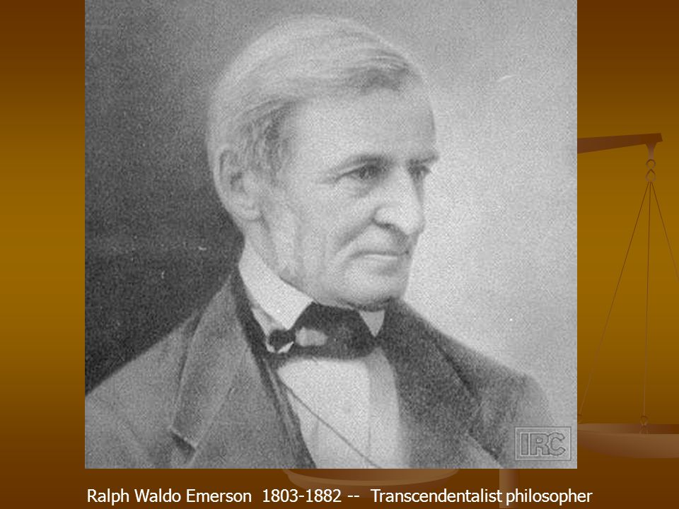 "ralph waldo emerson and the transcendentalist A transcendentalist sense of ""nature religion,"" returning to it so-called  ralph  waldo emerson (cw) (emerson 1971–2013) and the."