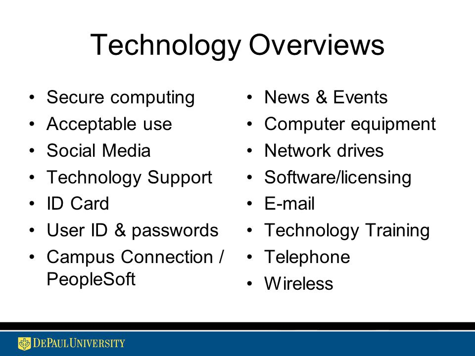 Information Services Overview Ppt Download