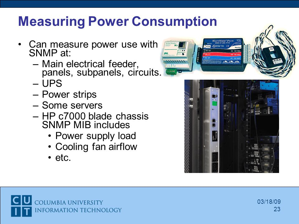 Measuring Electrical Panels : Green data center program ppt video online download