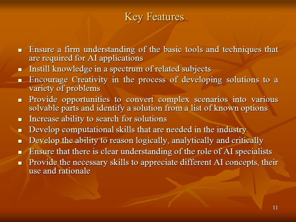 Key Features Ensure a firm understanding of the basic tools and techniques that are required for AI applications.