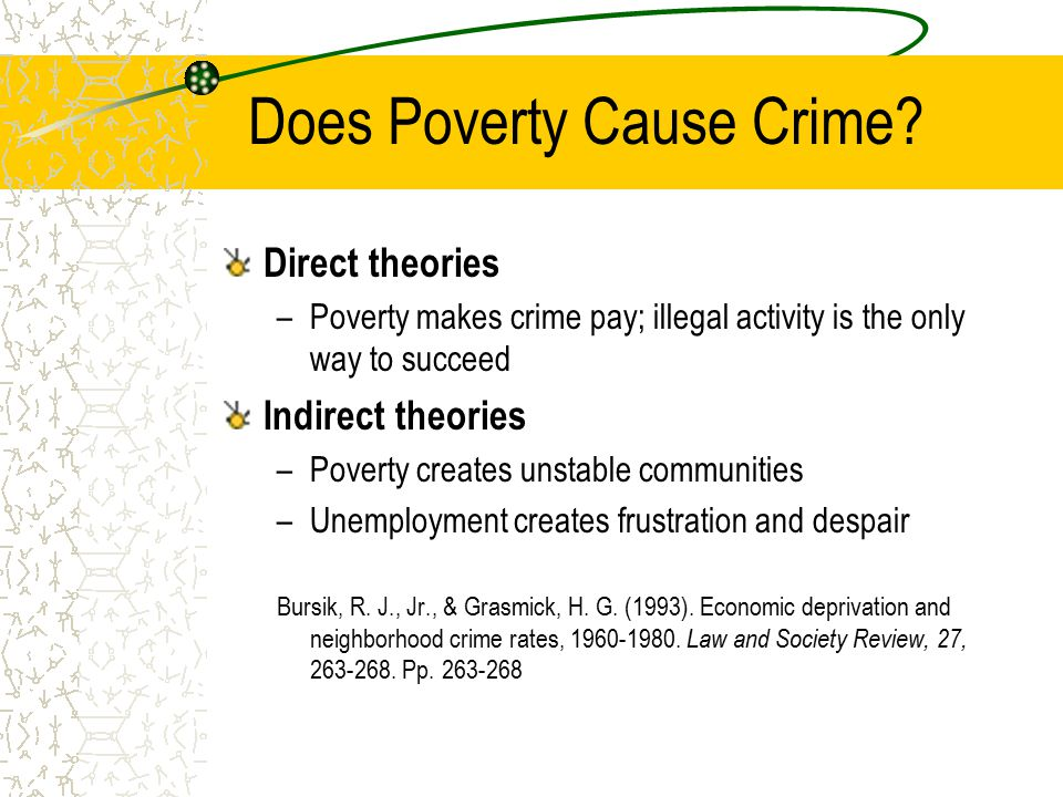 poverty is the parent of revolution and crime