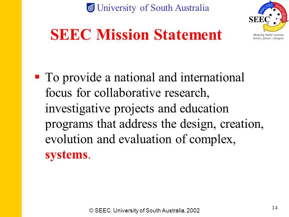 SEEC Mission Statement