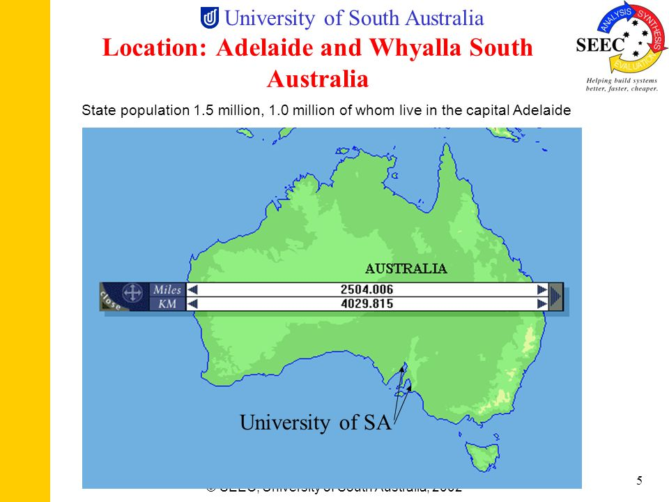 Location: Adelaide and Whyalla South Australia