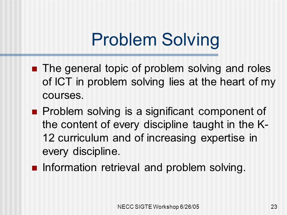 Graduate Certificate: Problem Solving for Leading Change