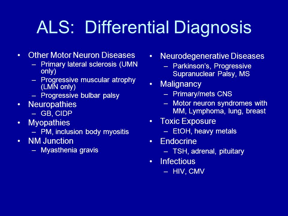 Guillain Barre Myasthenia Gravis And Als Ppt Video