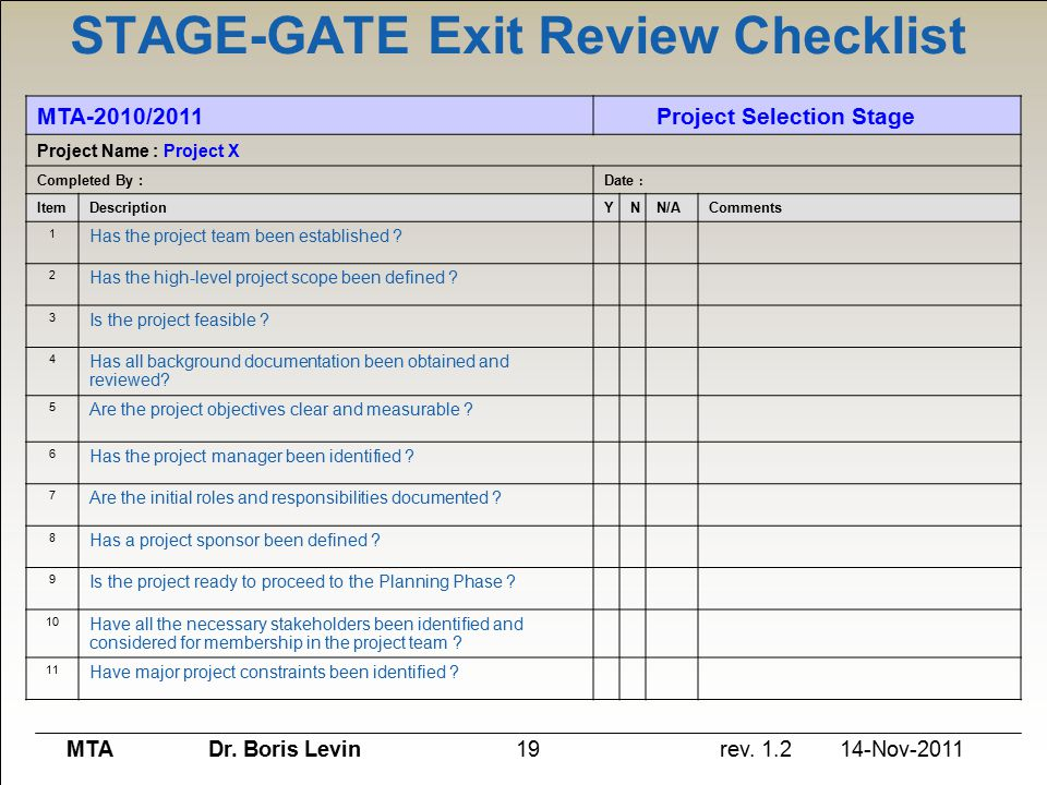 Phase Gate Template 28 Images Dashboard Templates