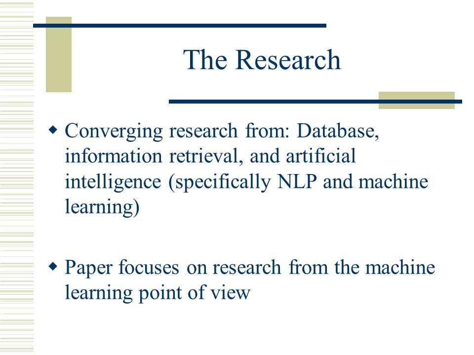 latest research papers