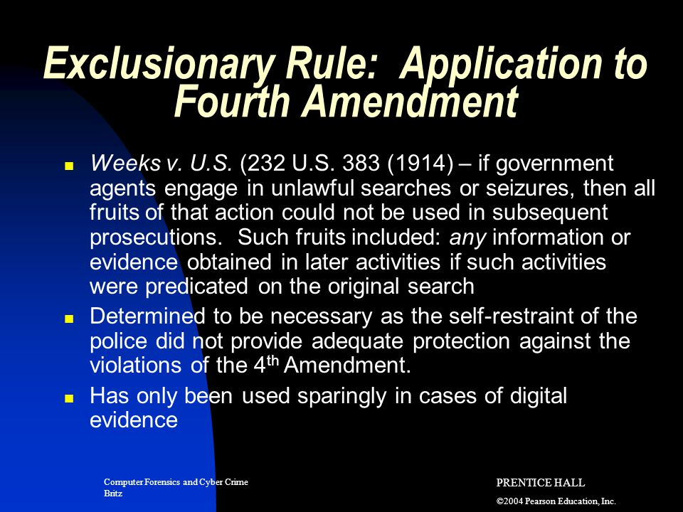 the codification of the fourth amendment essay This essay critiques professor orin kerr's provocative article, the fourth amendment and new technologies: constitutional myths and the case for caution, 102 mi.