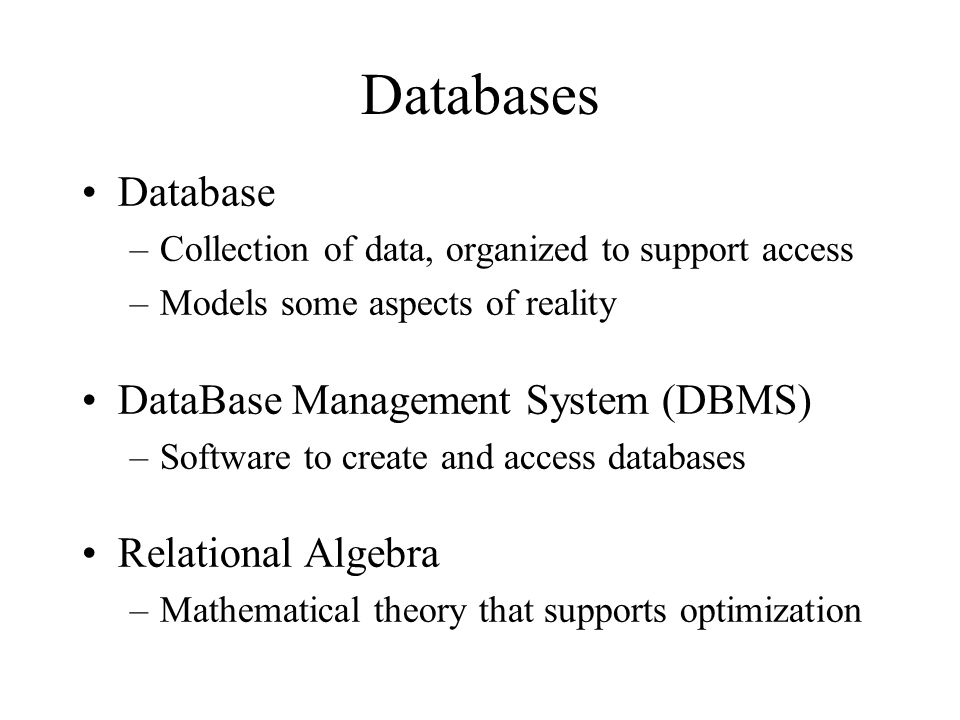 4 databases - Relational Database Design Software