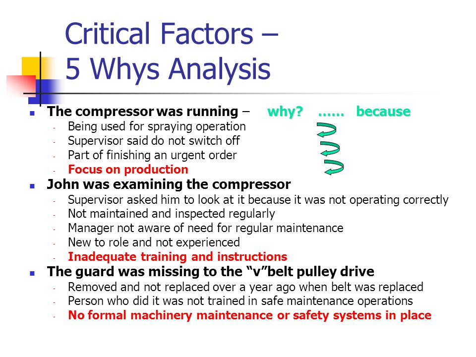 examining fatigue factors in accident investigations Degree programs related to aviation human factors and safety at florida tech's   design and evaluation, accident investigation and prevention, simulation, training ,  students examine how stress, fatigue, anxiety, and error, have an effect on.