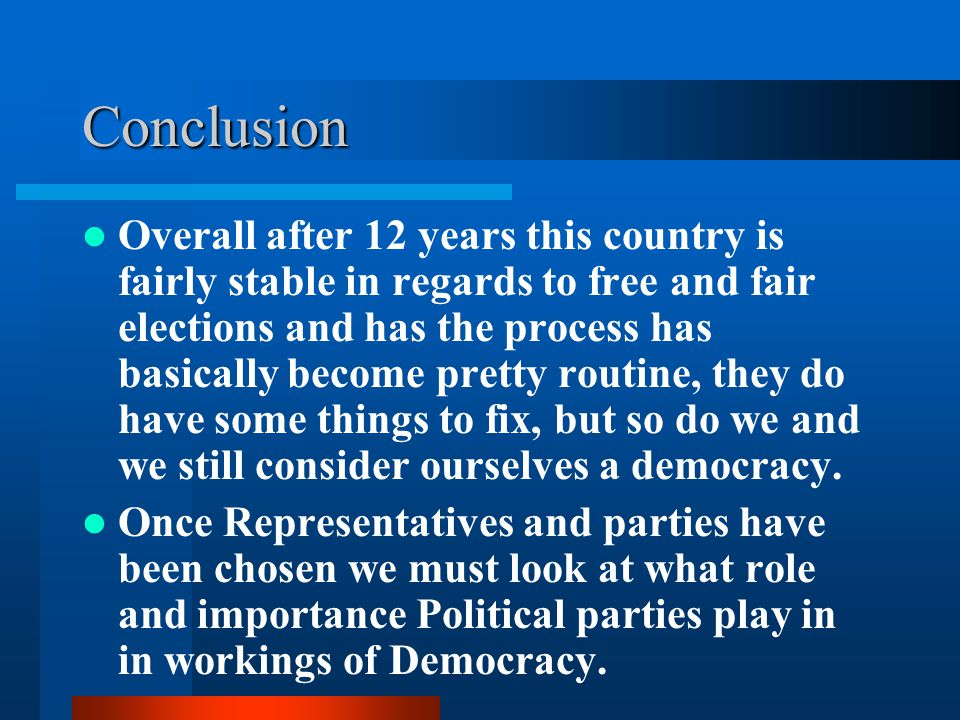 essay on role of political parties in democracy The role of opposition parties in a democracy julius kiiza, phd makerere university department of political science and public administration.