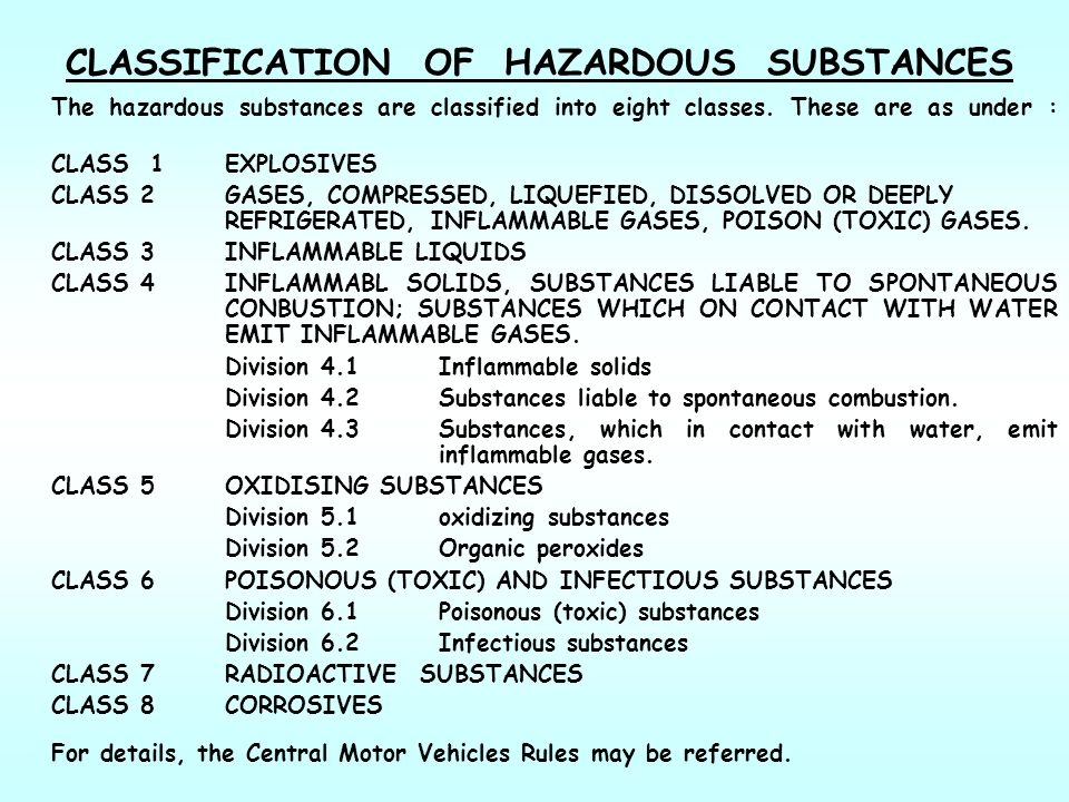 classification of chemical substance Home → essential background → classification and properties of matter  substance a set of chemical  classification, physical and chemical.