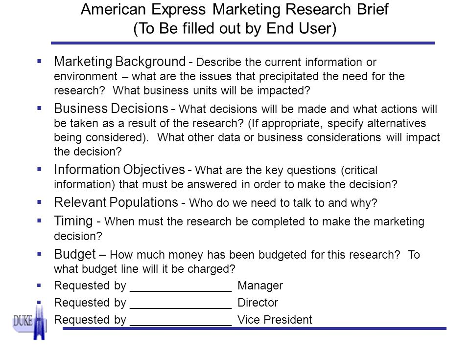 cim market research brief Perspectives blog post a brief history of market research february 4, 2016 kuba kierlanczyk  we may not all have the opportunity to take a class on the history of market research, but there's certainly always time for a quick synopsis.