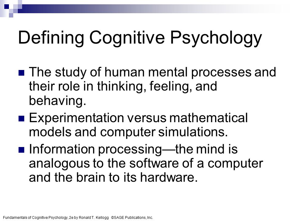 cognitive psychology brain and mind relationship