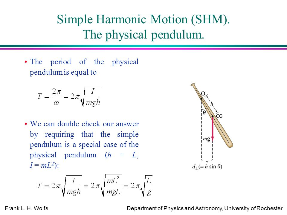 physics pendulum prac The pendulum is subject to frictional damping, meaning that it will slow down over time if there is no driving force to see this try setting the drive amplitude to zero, so the only forces are damping and.