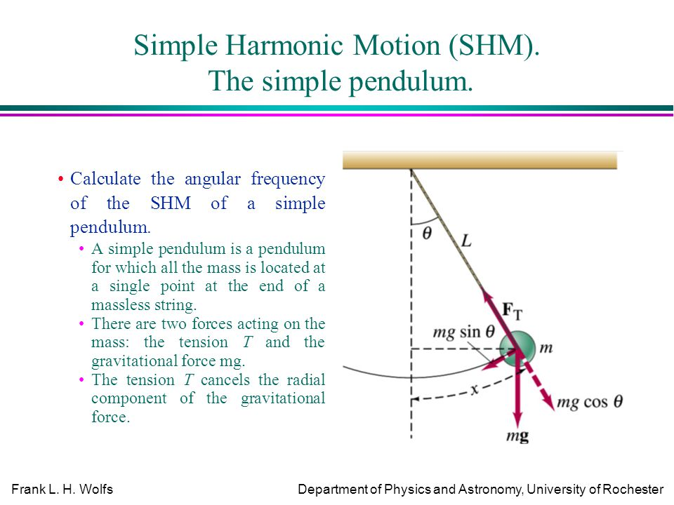the simple pendulum Sample lab procedure and report the simple pendulum in this laboratory, you will investigate the effects of a few different physical variables.