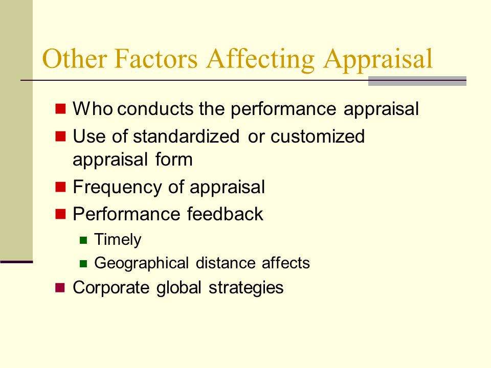 6 Important Factors that can Distort Performance Appraisal