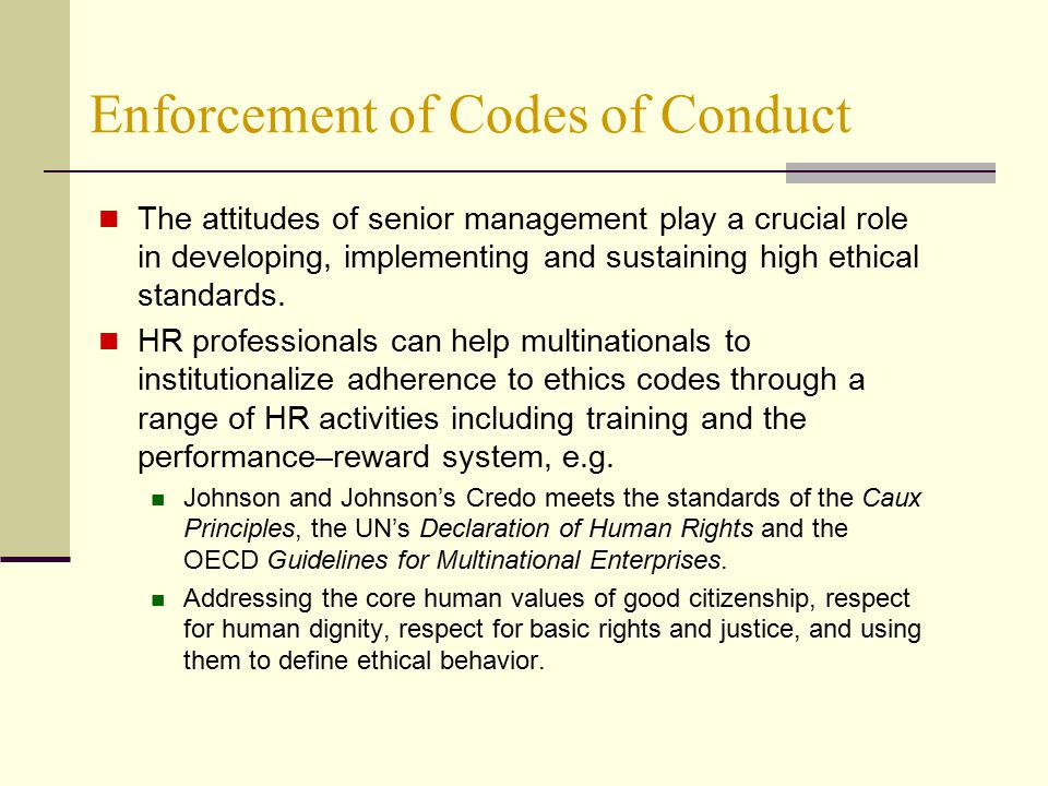 three fundamental tenets of a code of ethics Code of ethics and business conduct  this means following a basic code of ethical behavior that includes the following  employees' ethics concerns as threats .