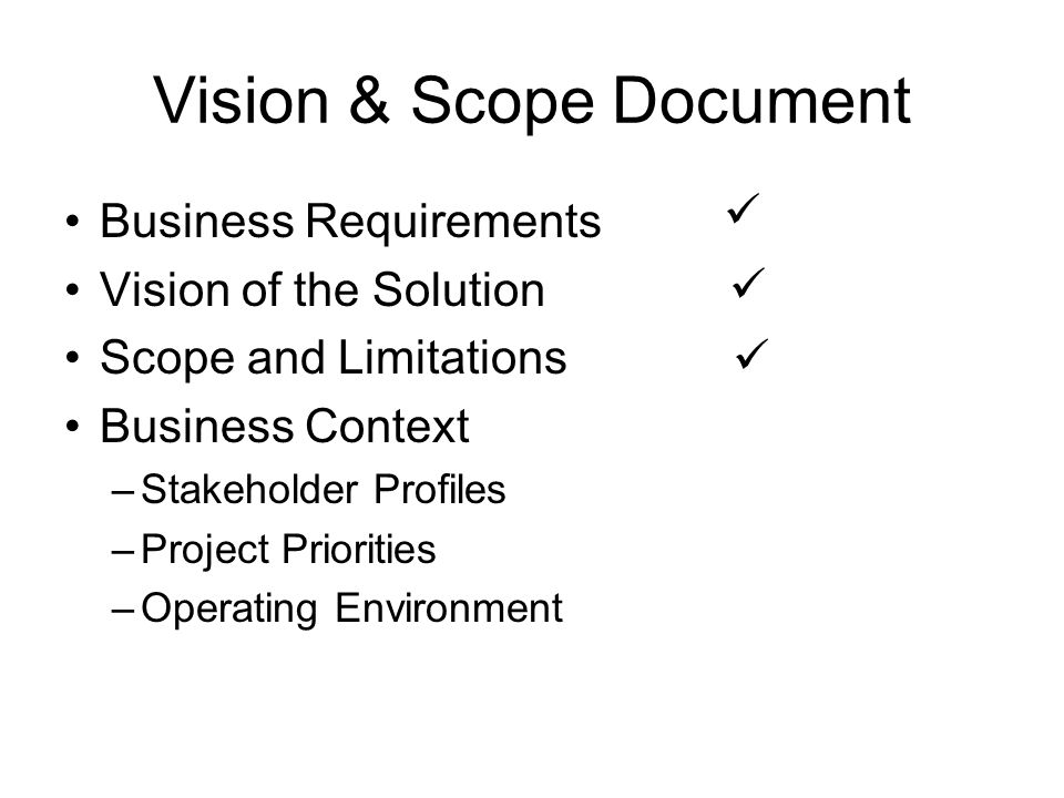 the scope and limitations of environmental Chapter 5 - project scope management  assets and any other relevant enterprise environmental factors  and external restrictions or limitations that may affect.