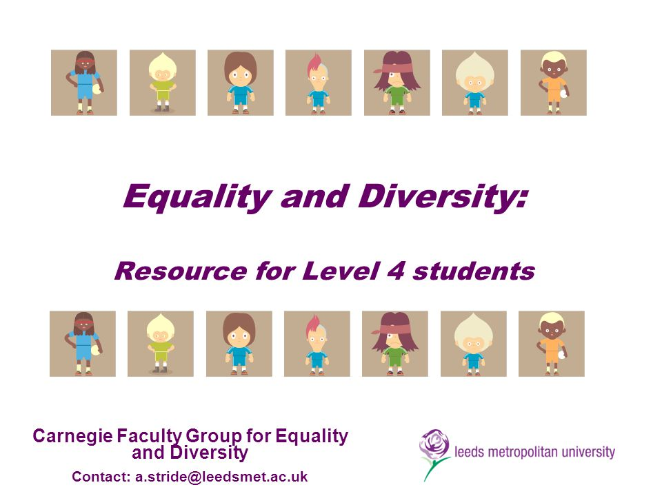 equality and diversity level 2 2 leadership and management: equality, diversity and inclusion 3 monitoring  4  vocational courses at all levels for 16-18 year olds and adult learners.