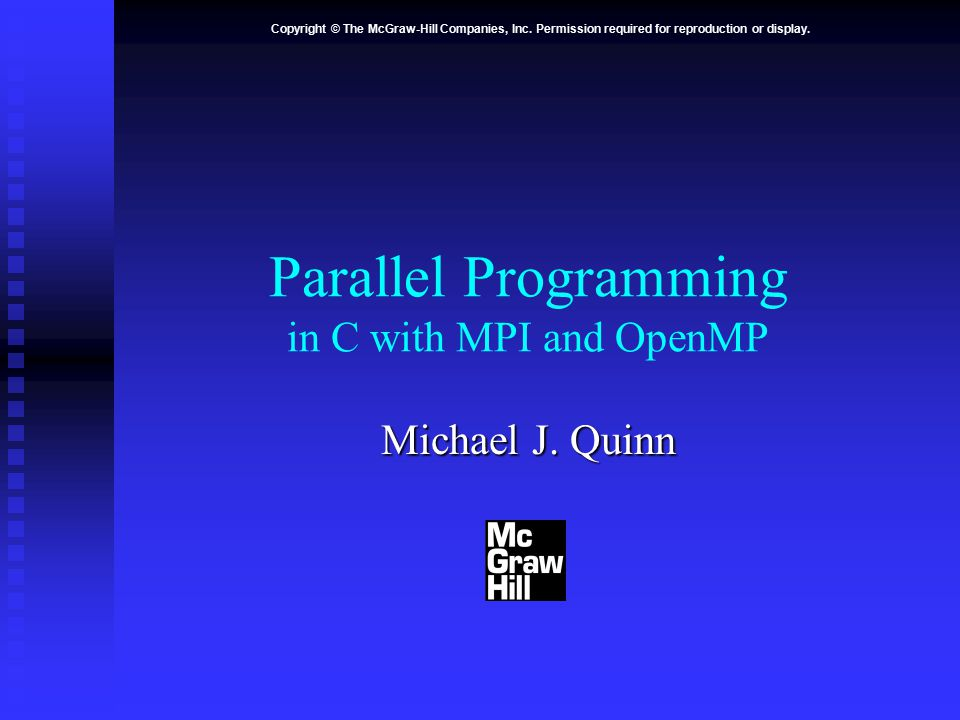 Parallel Programming In C With Mpi And Openmp Pdf