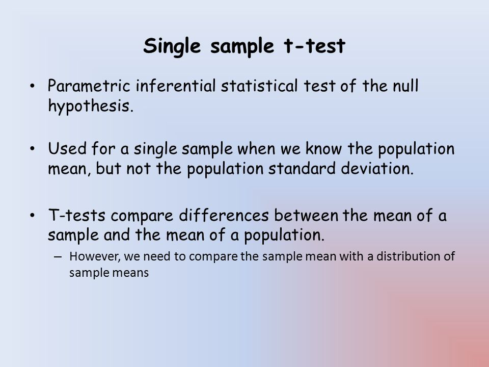 Hypothesis testing & Inferential Statistics - ppt download