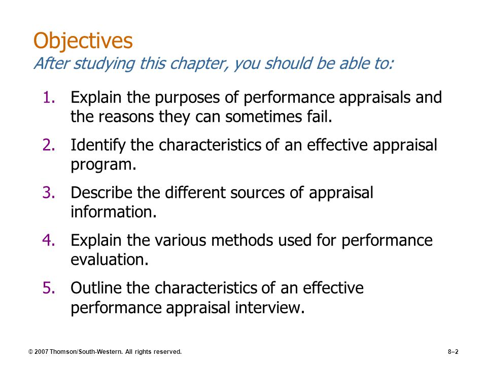 bohlander snell and performance appraisals Study 217 hr final exam flashcards from megan b on studyblue  performance appraisals are subject to the same validity criteria as selection procedures.
