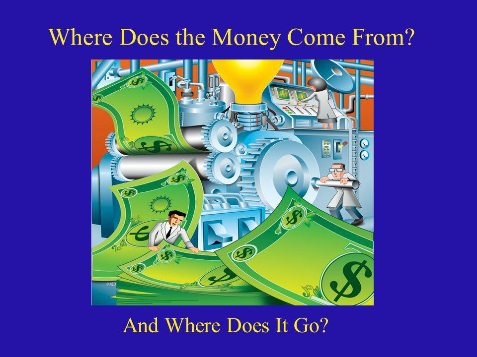 Where Does the Money Come From