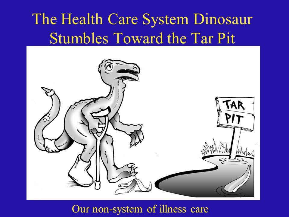The Health Care System Dinosaur Stumbles Toward the Tar Pit