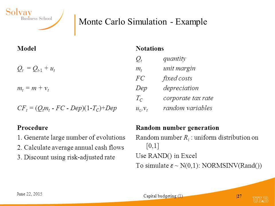random number generation in simulation pdf