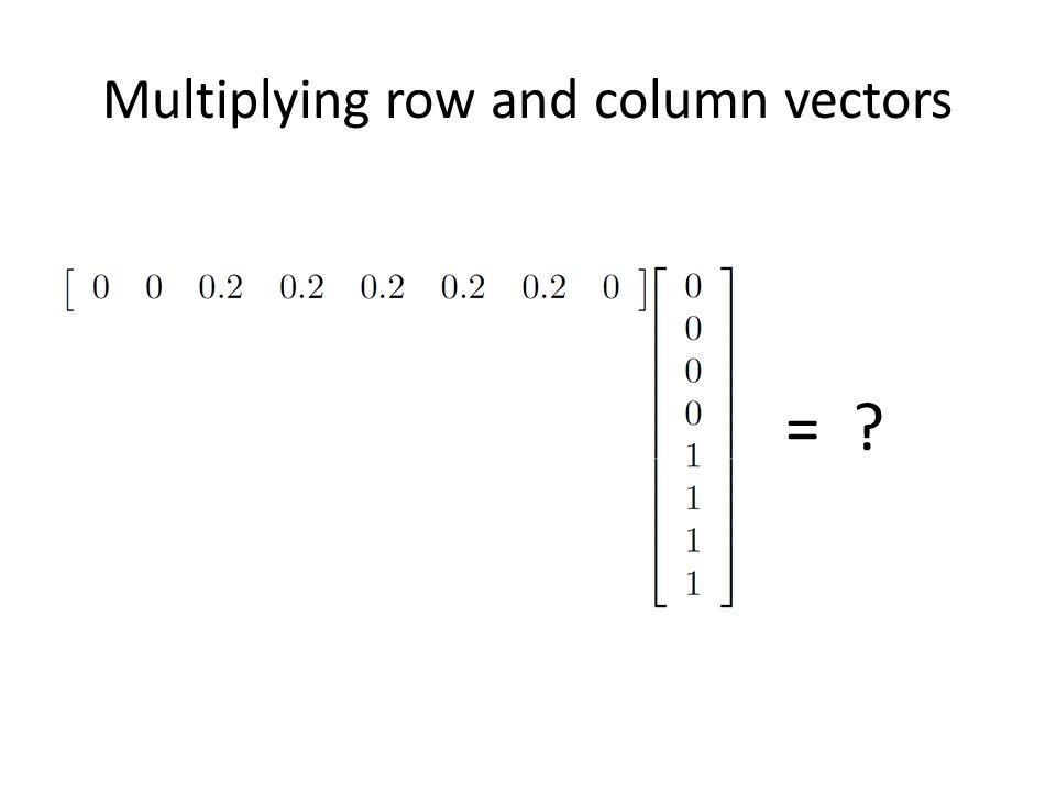 edge detection using vector operators