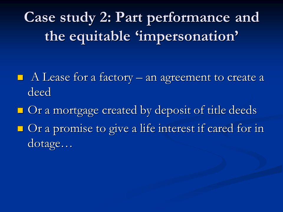 law deed case study 1 standing to foreclose: a massachusetts case study and multi-jurisdiction survey richard a oetheimer goodwin procter llp boston, massachusetts.