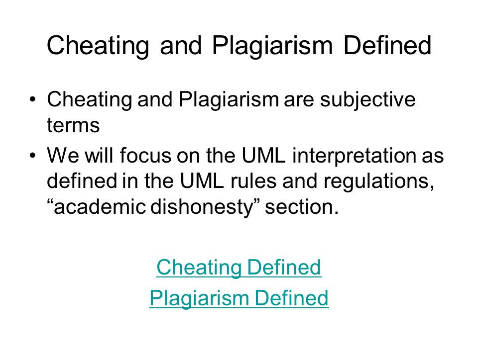 plagiarism academic dishonesty and students Academic dishonesty, plagiarism included, in the digital age: a used for (uf) academic dishonesty, student cheating, and student dishon-esty another to commit an act of academic dishonesty, and plagiarism is defined as.