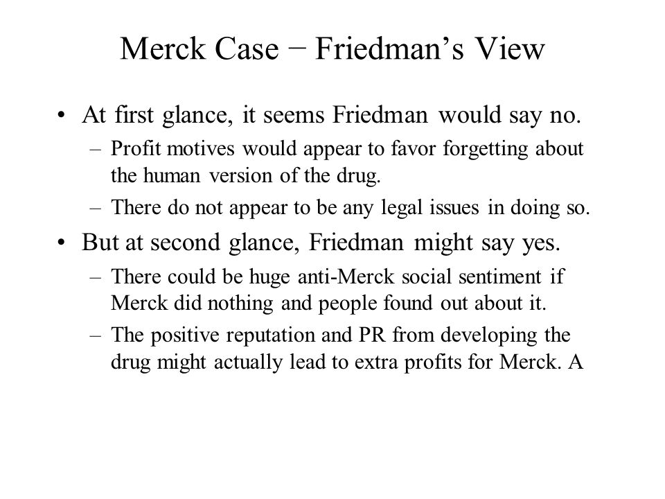 merck case 1 The federal circuit recently held that unclean hands based on serious business and litigation misconduct barred merck & co from enforcing two patents against gilead sciences inc[1] this article.