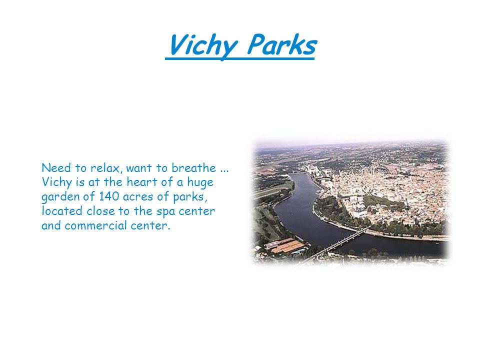 Vichy Parks