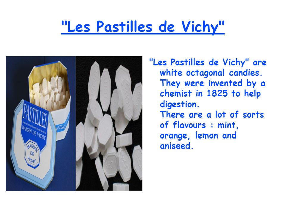 Les Pastilles de Vichy